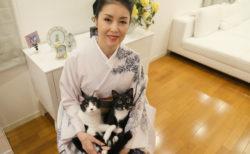 藤あや子も愛猫と登場!話題の着物ファッション誌、最新号は表紙が高畑充希&ネコ特集も掲載