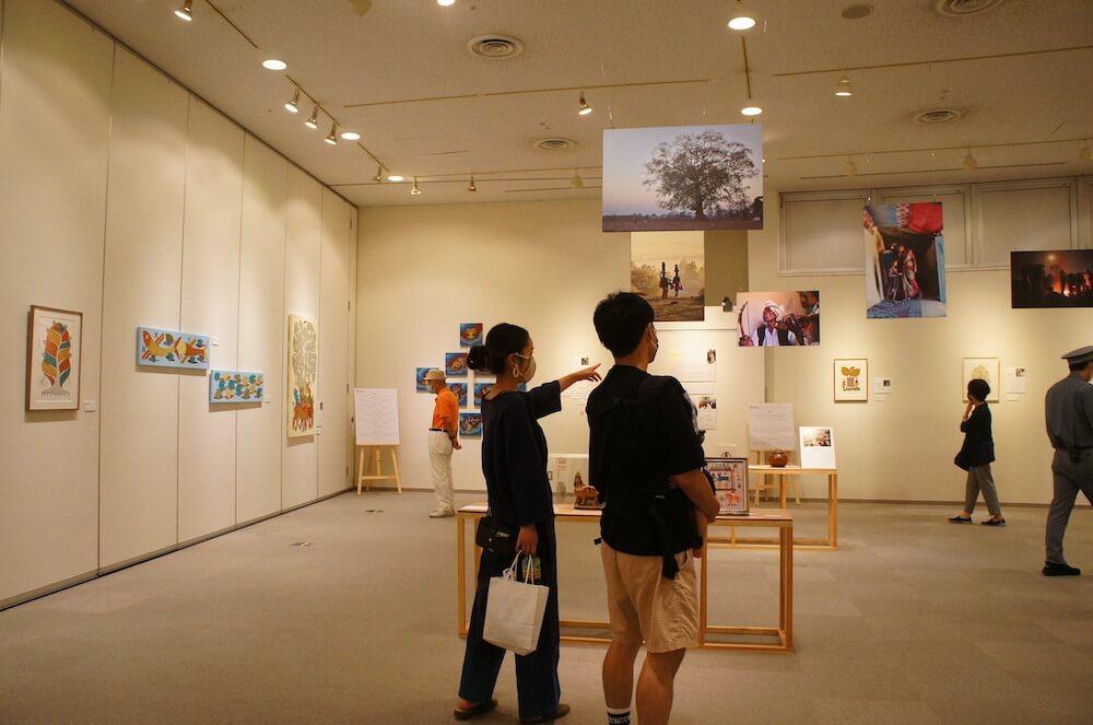 神奈川県立地球市民かながわプラザ(あーすぷらざ)の企画展開催風景