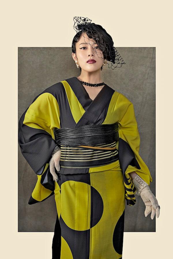 着物モデルを務める高畑充希2 by 『KIMONOanne.(キモノアン)』の第2号