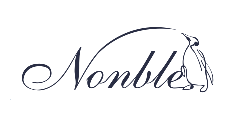 紀伊國屋書店グループのエヌ・ビー・シーが展開している文具ブランド「Nonble(ノンブル)」のロゴ