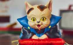 福助人形とねこが合体すると…縁起が良さそう!平成狸合戦ぽんぽこの「福助猫」がグッズ化