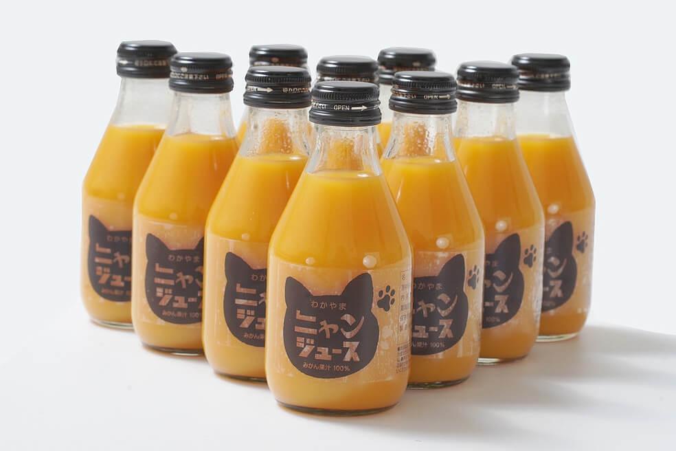 和歌山みかんジュース「ニャンジュース」10本セット
