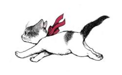 猫の親子愛を描いた『ながいながい ねこのおかあさん』原画展が2月より開催!サイン本も販売