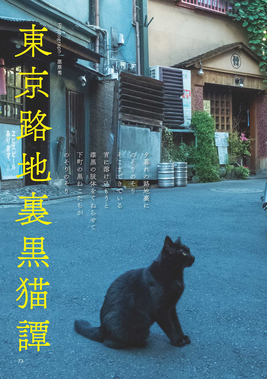 「東京路地裏黒猫譚」 by 雑誌「黒猫まみれ」