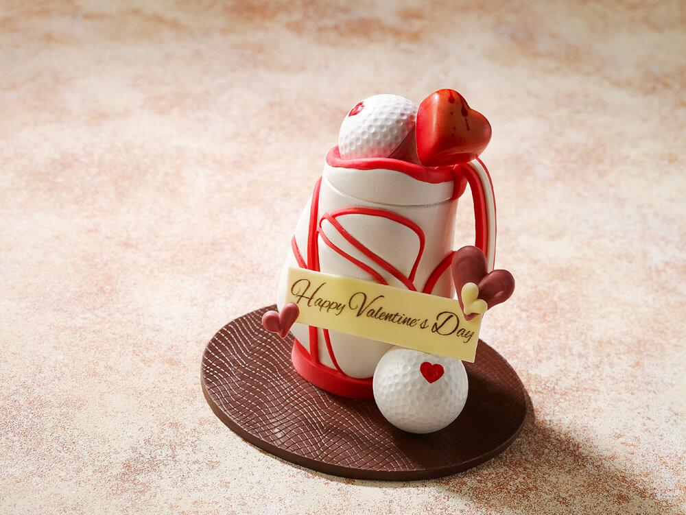 ゴルフバッグ型のチョコレート「Golf Bag」 by ザ・プリンス パークタワー東京