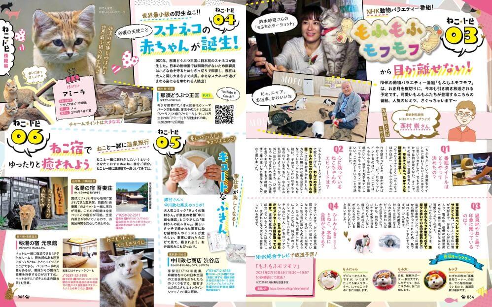 旬なねこの話題をクローズアップした「ねこ☆トピ情報局」 by 雑誌「にゃっぷる」