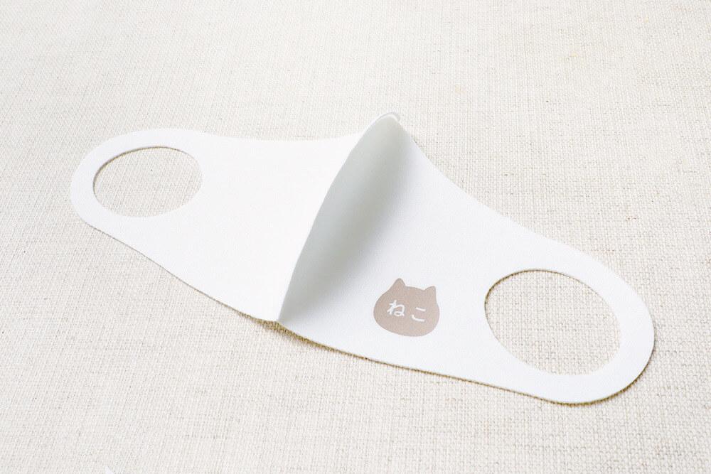 ねこねこ食パンのオリジナルマスク製品イメージ