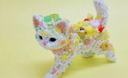 もしも猫の体がお菓子だったら…?スイーツデコアートの展示会「チョコレート美術館」が開催