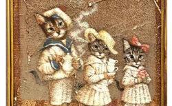 猫愛たっぷりの絵画&グッズが集結!油彩画家・髙橋幸恵さんの作品展が2/11より開催