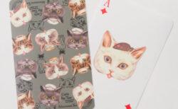 かわいい猫トランプもあるニャ!アフタヌーンリビングから人気のコラボ猫グッズ第6弾が登場