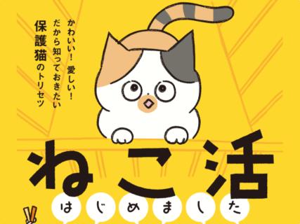 猫を飼う前に知っておきたい!マンガで分かる保護猫のトリセツ『ねこ活はじめました』