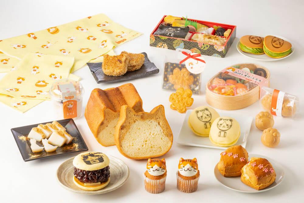 猫のにゃらんをモチーフにした弁当、スイーツ、グッズ by 東京駅じゃらんフェア2021