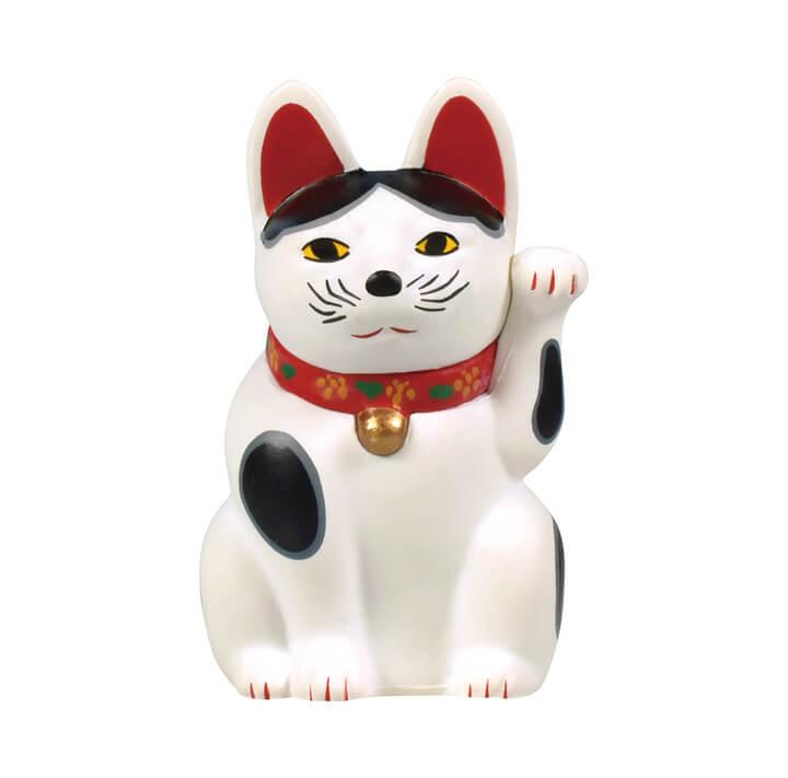 三河系土人形の招き猫 by 招き猫ミニチュアコレクション