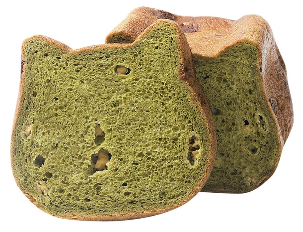 ひなまつり限定フレーバー食パン「抹茶」味 by ねこねこ食パン