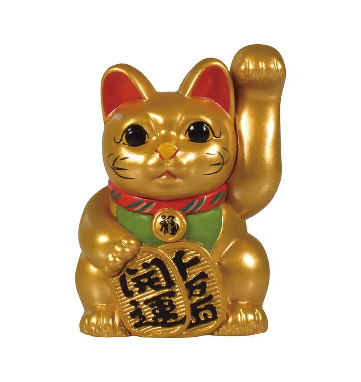 金色の常滑型招き猫(限定レアカラー) by 招き猫ミニチュアコレクション