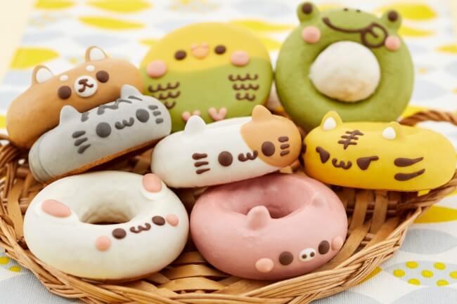 イクミママのどうぶつドーナツのドーナツ商品イメージ