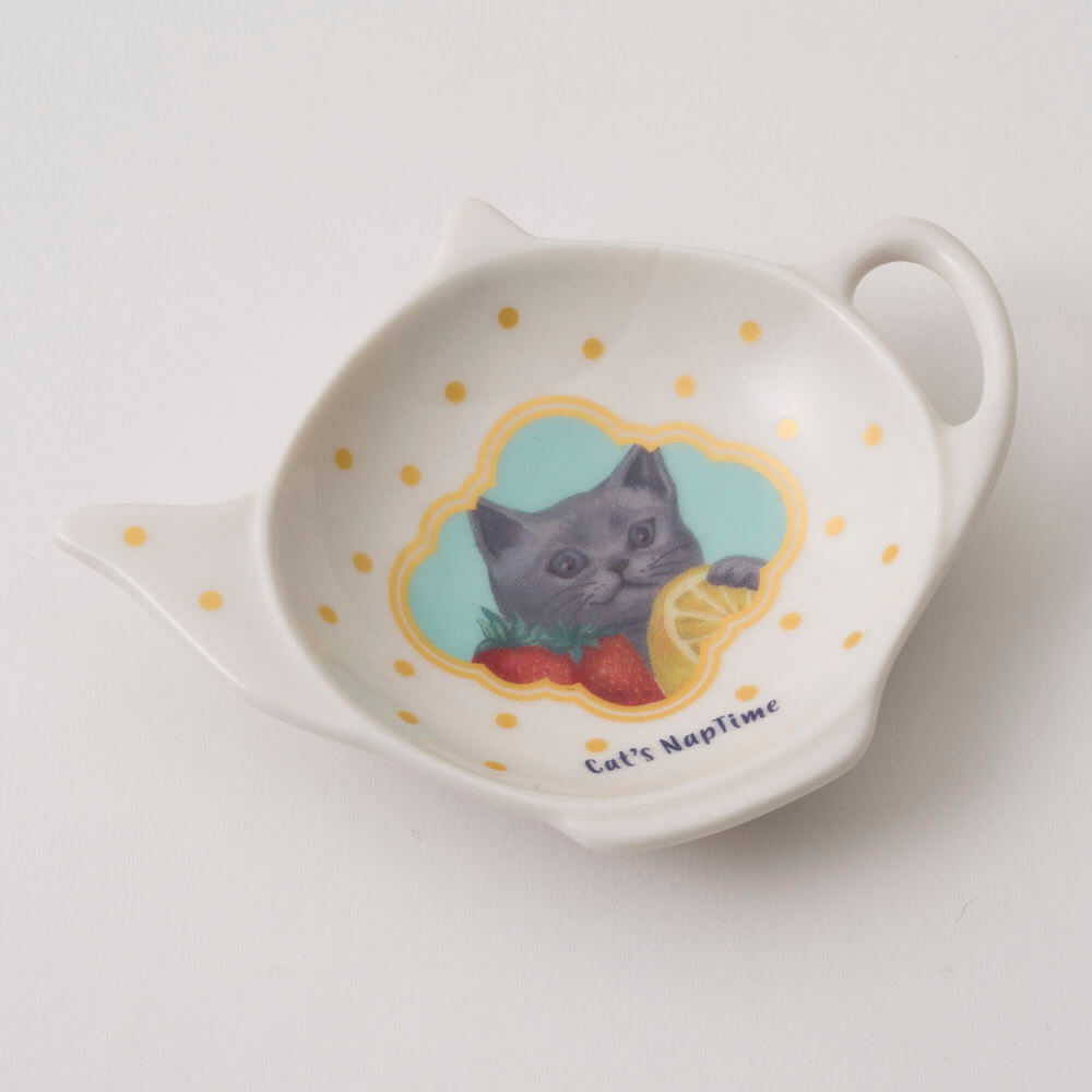 Afternoon Tea LIVINGで販売される猫グッズ「ティーバッグトレー」 by Cat's ISSUE
