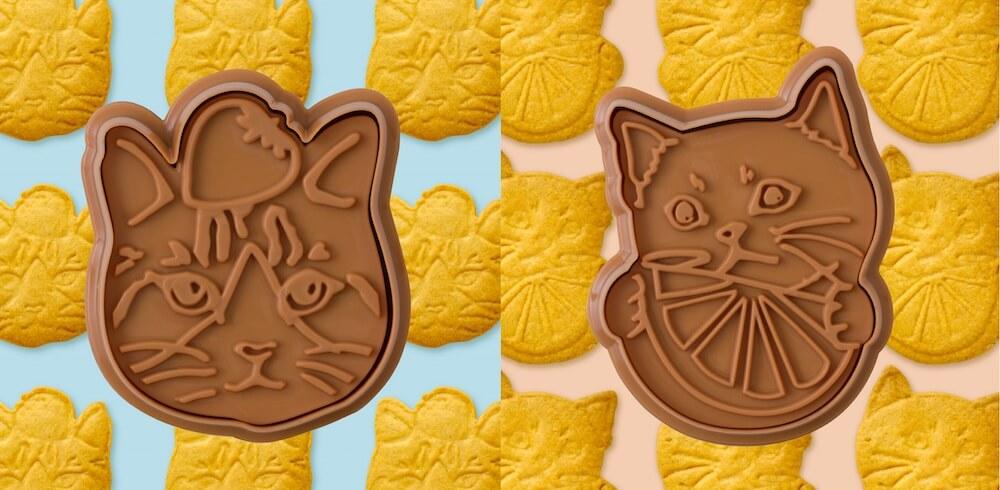 ネコ形のオリジナルクッキー型 by Afternoon Tea LIVING