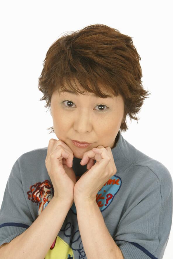 声優・田中真弓さんの近影イメージ