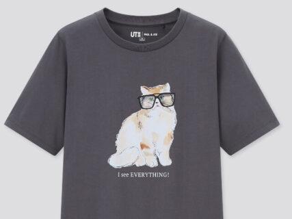 ユニクロのお店でポールアンドジョーの猫Tシャツが買える!3/26よりコラボグッズを一挙発売