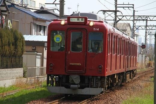 養老鉄道が運営するローカル線、養老線の車両イメージ