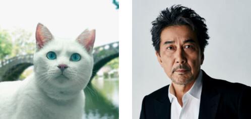 白猫の声役(役所猫司郎)を努めた役所広司 by 長崎の変、はじまる」