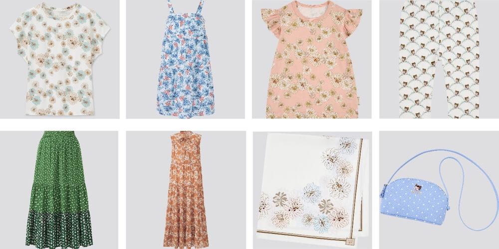 ブラウス、スカート、スカーフ、ポシェット by UTとポールアンドジョーのコラボ商品