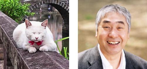 白猫の声役(蛭子猫収)を努めた蛭子能収 by 長崎の変、はじまる」