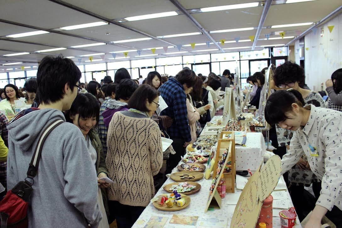 猫雑貨の展示即売会イベント「ニャンフェス」の会場&開催風景イメージ