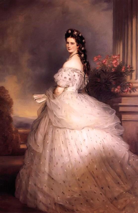 ヨーローッパ宮廷一の美貌と言われたオーストリア帝国のエリザベート皇后