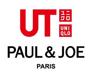 ユニクロのTシャツブランド「UT」のロゴとポールアンドジョーのロゴ