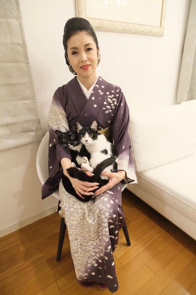 愛猫家の演歌歌手・藤あや子