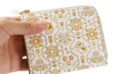 ニャンコ先生の新作革小物がかわいい!着物の伝統的な染色技法を駆使したミニ財布&カードケース