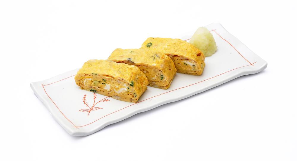 にぎすのだし巻き玉子 by フードロスを削減する魚の水煮缶詰「NEKOKAN(ねこかん)」の調理例