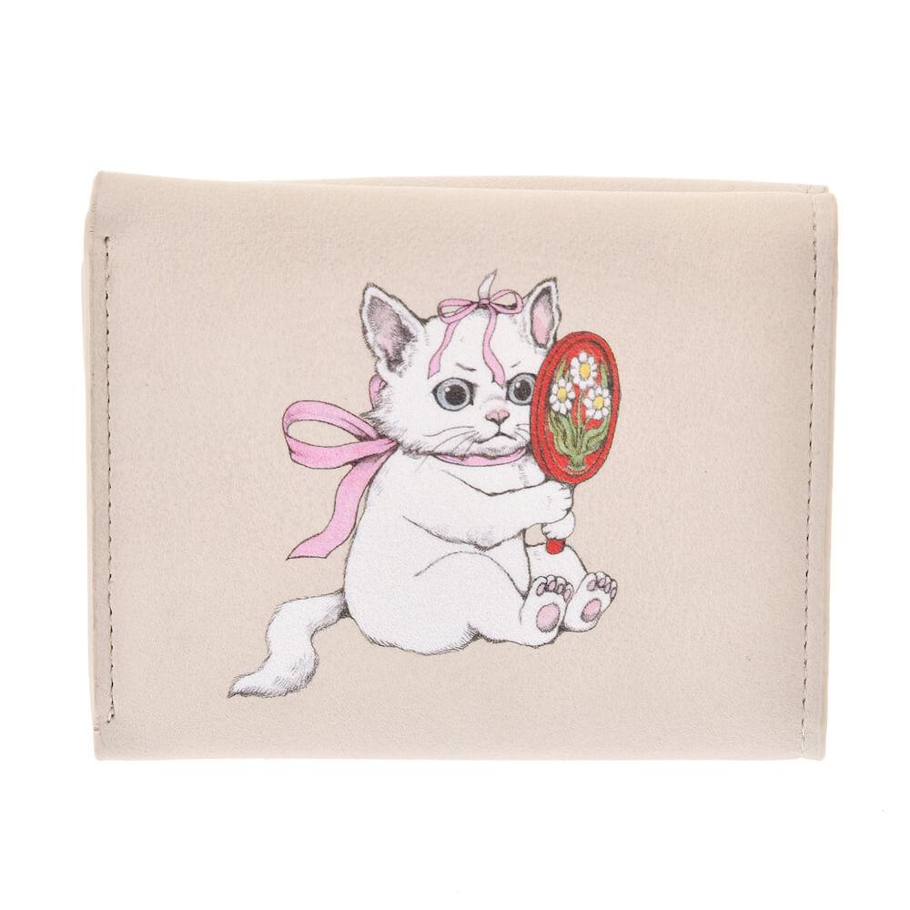 ヒグチユウコが描く「おしゃれキャットマリー」の財布・ウォレット