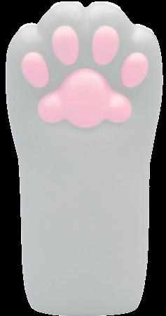 猫の手型のスクイーズ「ぷにぷに肉球にゃんこハンドスクイーズ」アメショねこ