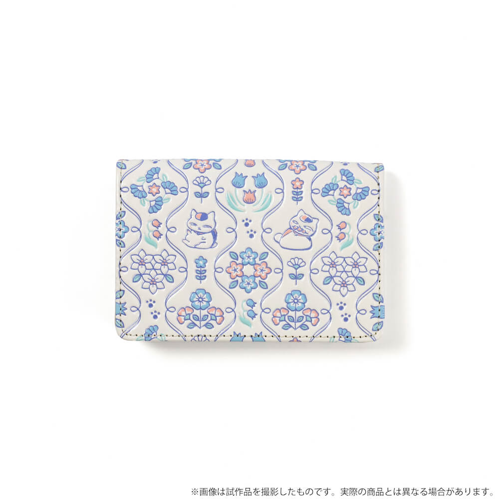 ニャンコ先生デザインのカードケース by 革製品メーカーの「浅草文庫」