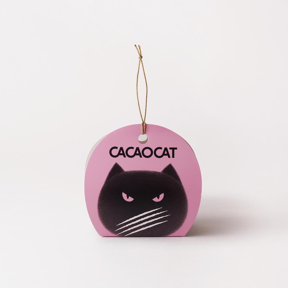 CACAOCAT(カカオキャット)2個入り ストロベリーの商品パッケージ