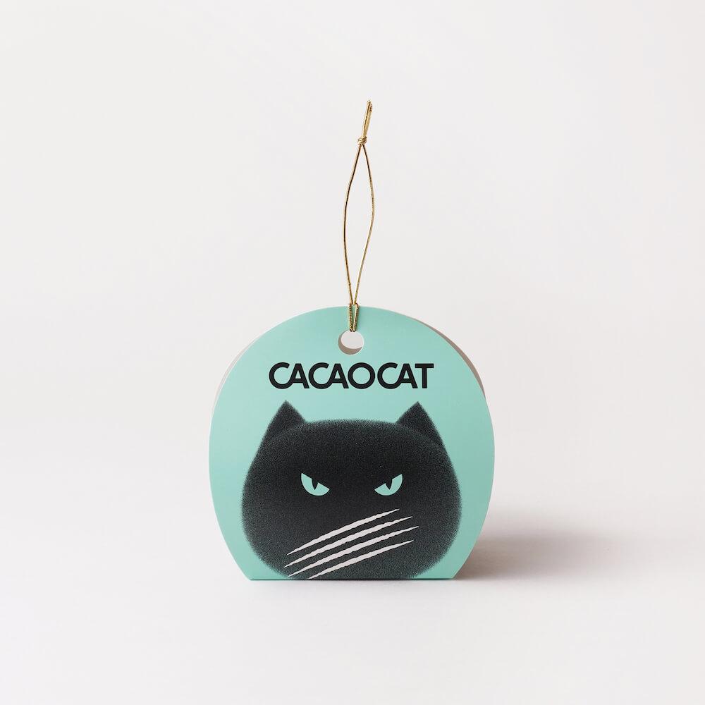 CACAOCAT(カカオキャット)2個入り チョコミントの商品パッケージ