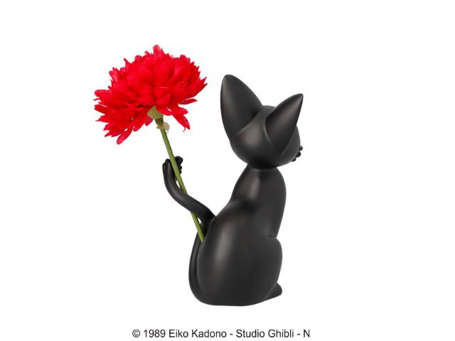 造花を一本飾れる一輪挿し、ちび輪挿し「ジジのしっぽ遊び」製品背面イメージ