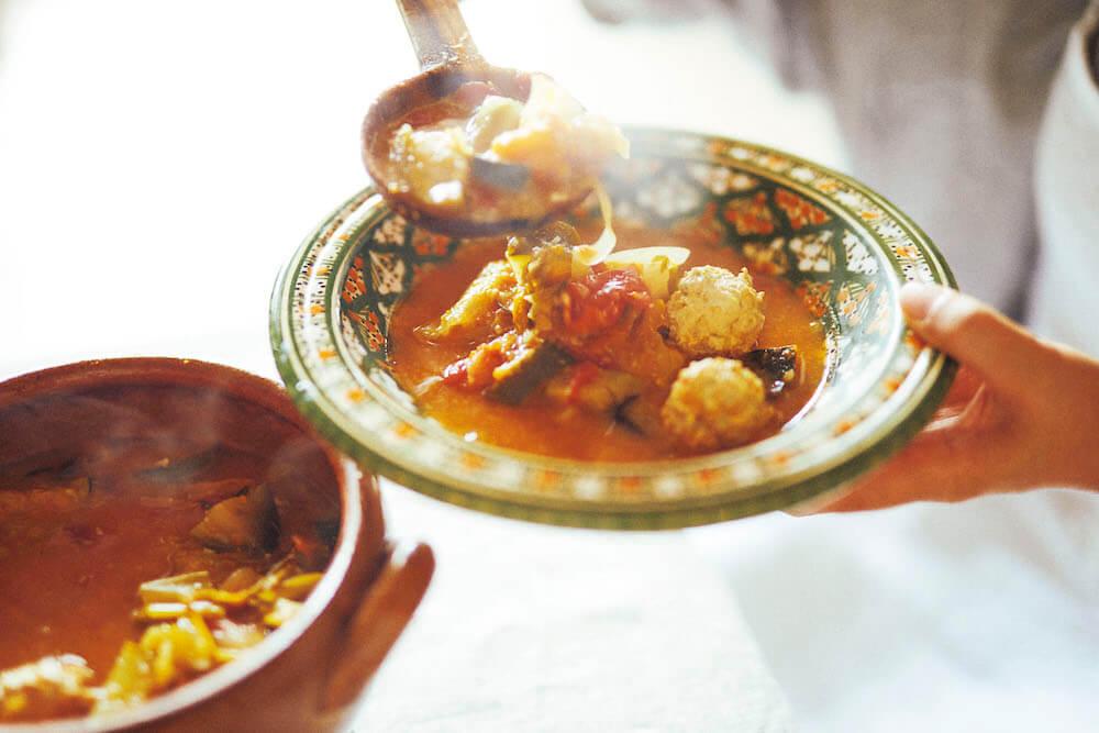 猫沢エミさんの手作り料理イメージ