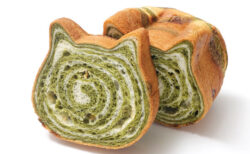 かわいいネコ型の高級食パン専門店「ねこねこ食パン」、5月からは抹茶味&キジトラ柄の限定商品を発売中