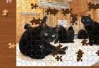黒猫カフェや子猫の写真で遊べる!Switch用のジグソーパズルゲームに30点のネコ画像が追加