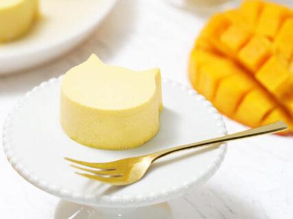 ねこ型チーズケーキのお店からマンゴー味が新登場!父の日ギフト向けのティラミス食パンも