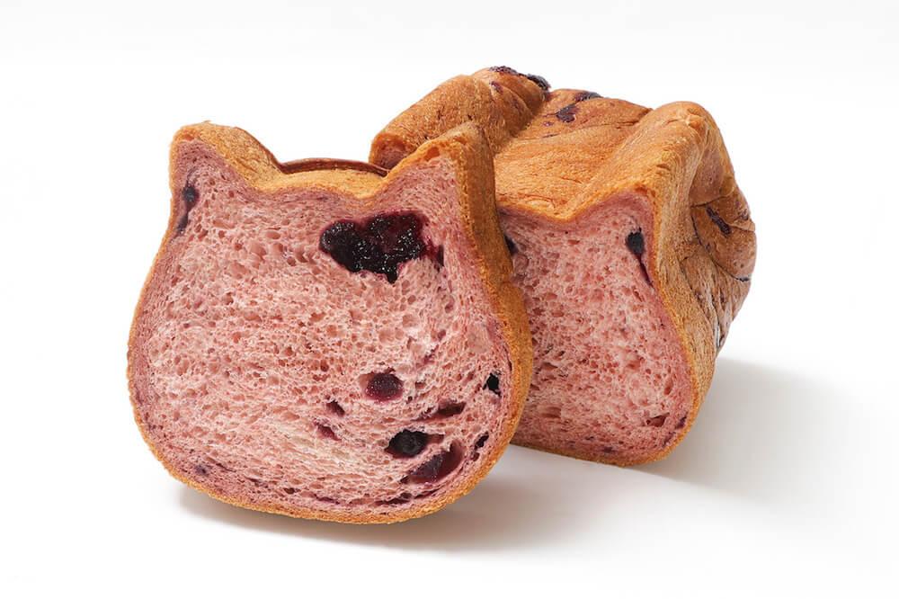 「ねこねこ食パン ブルーベリー」商品イメージ