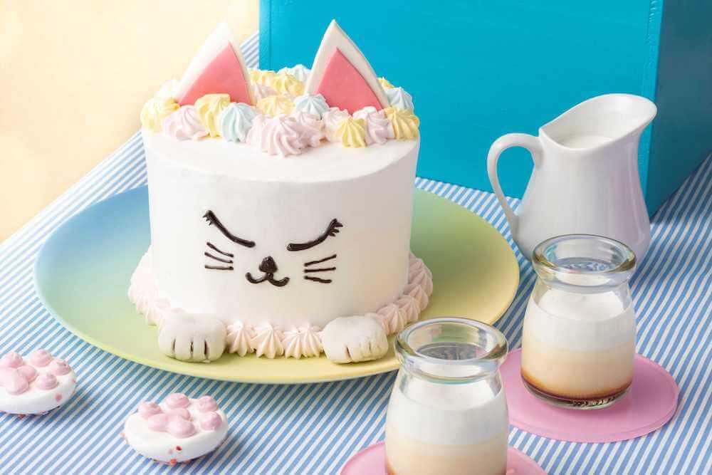 オシャレ猫のバームクーヘン by ヒルトン東京ベイのデザートビュッフェ Love Kitty (ラブ・キティ)