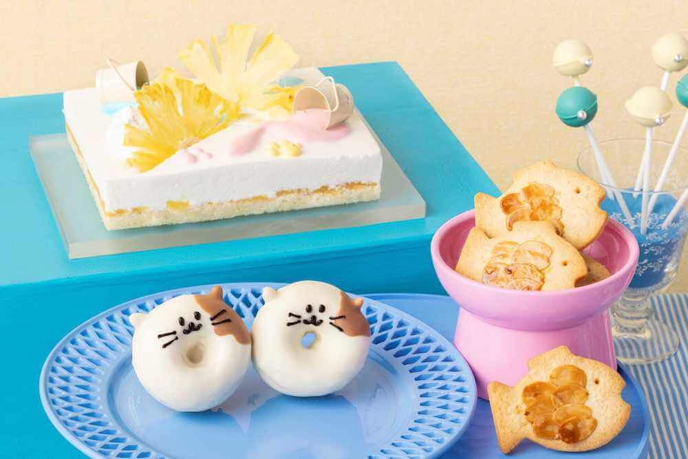 ねこねこドーナツ by ヒルトン東京ベイのデザートビュッフェ Love Kitty (ラブ・キティ)