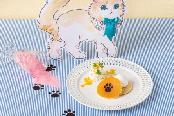 猫の足跡パンケーキ by ヒルトン東京ベイのデザートビュッフェ Love Kitty (ラブ・キティ)