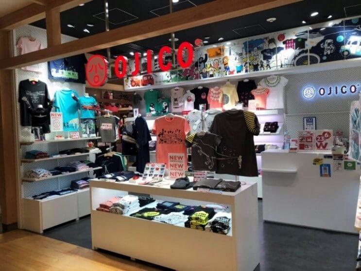 Tシャツブランド「OJICO(オジコ)」の店舗イメージ