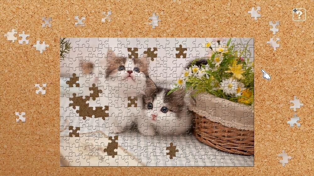 子猫の写真を使ったジグソーパズル by ジグソーマスターピース